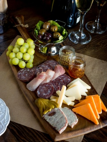 Catering by J.Baldwin's Charcuterie and Cheese Board