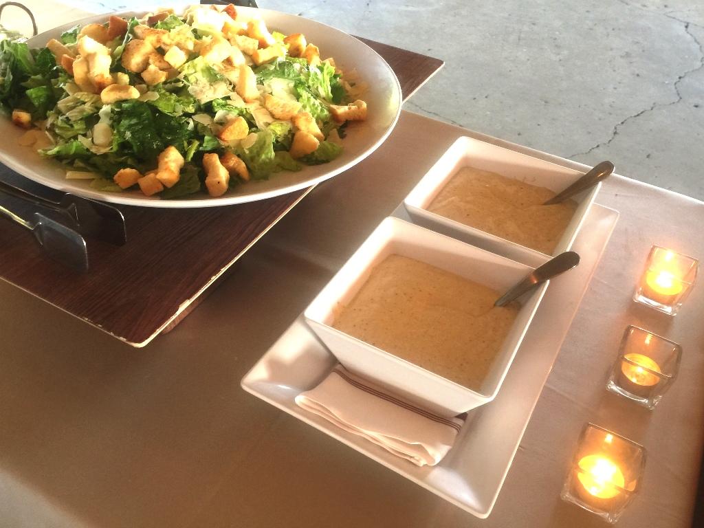 Farm Wedding - Caesar Salad