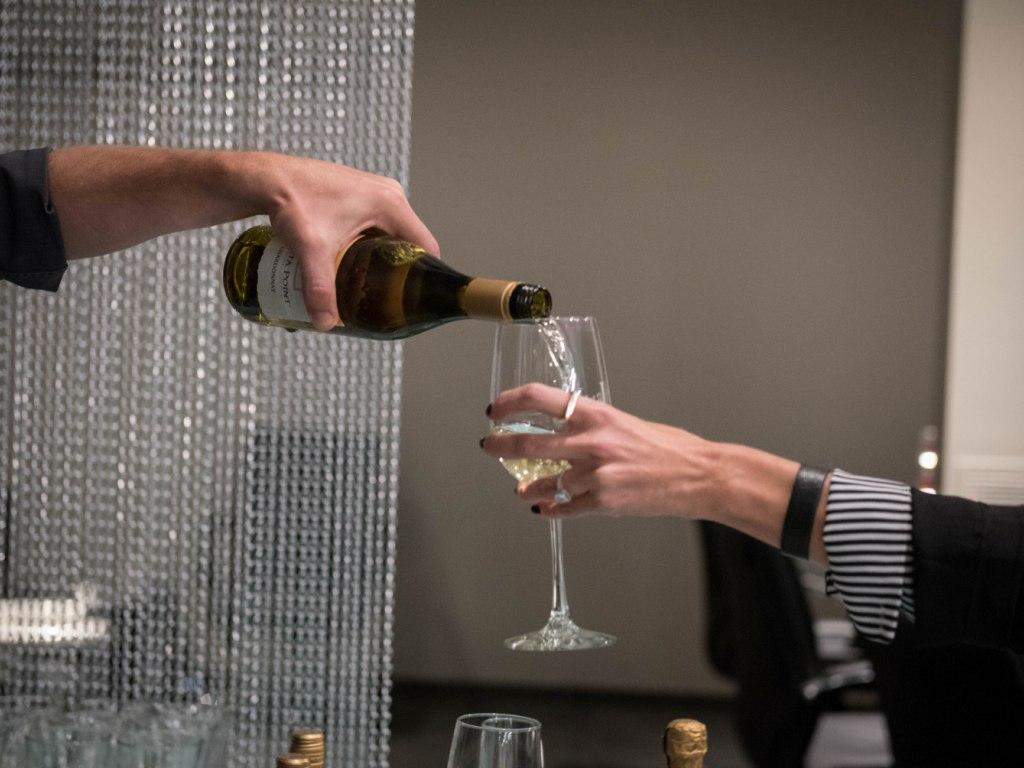 Salon Opening - Wine Service