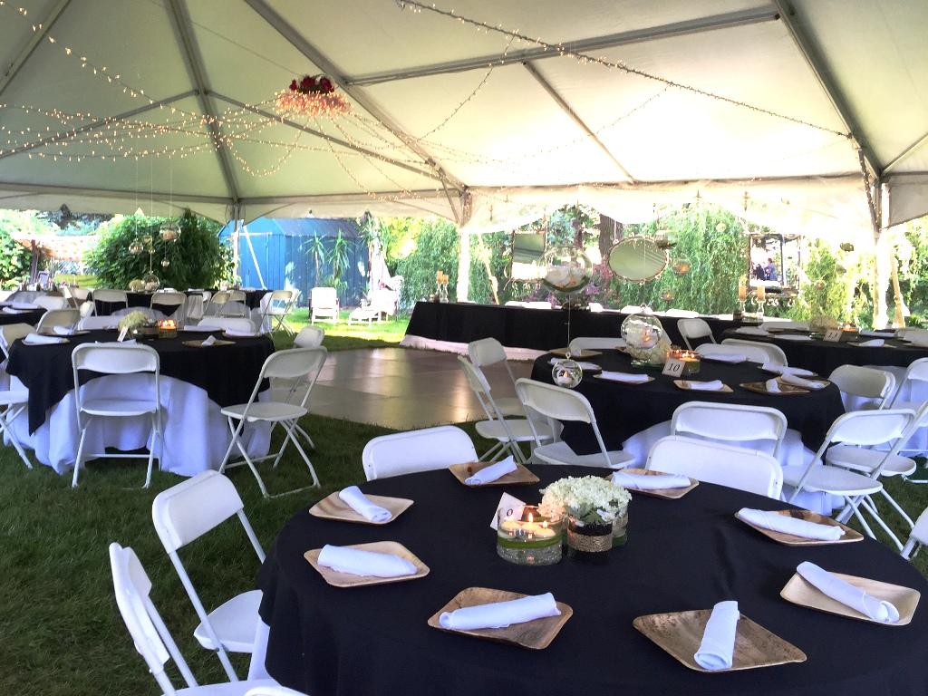 Beautiful Backyard Wedding We Catered