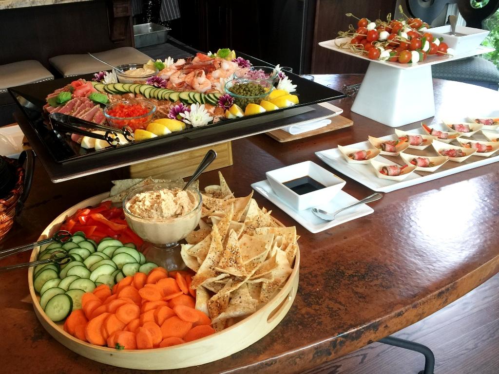 Engagement Party - Appetizer Buffet