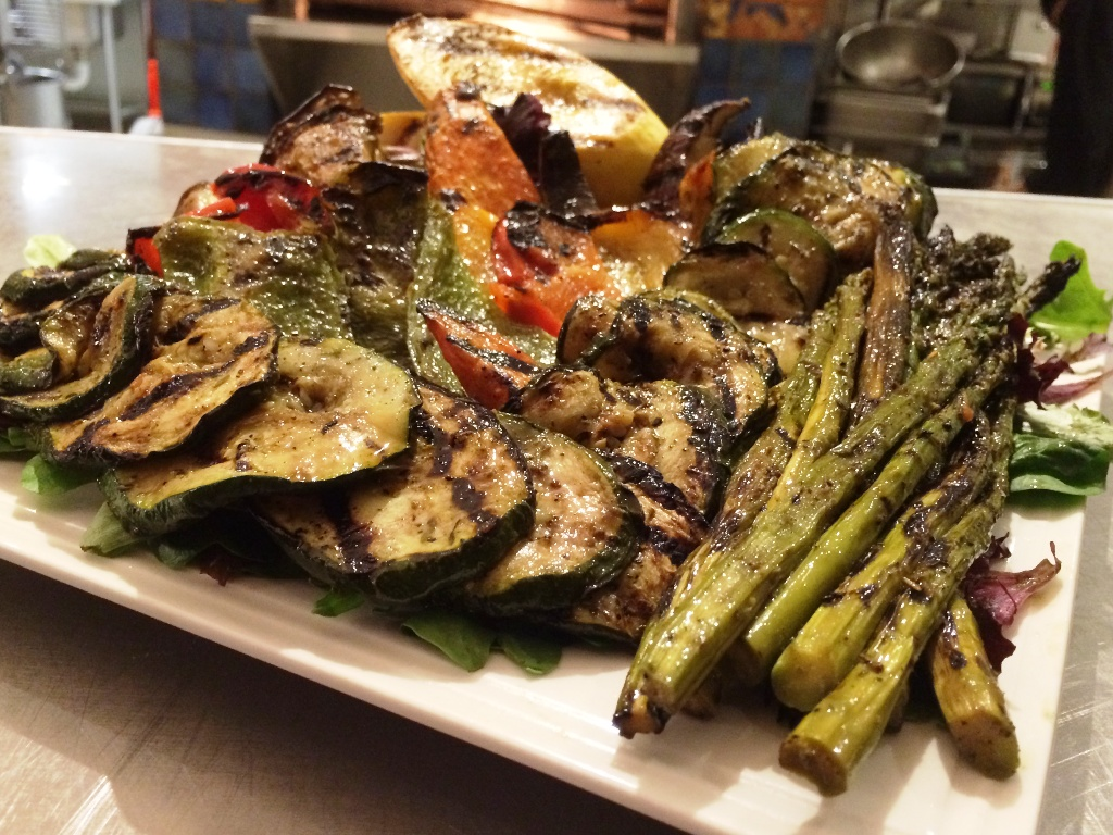 50th Birthday Bash - Grilled Veggie Tray