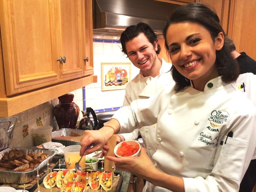 Rehearsal Dinner - Chefs Preparing Food On-Premise