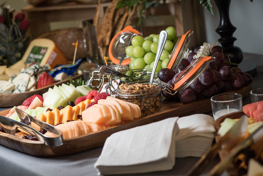 Corporate Catering - Fruit & Cheese Tray