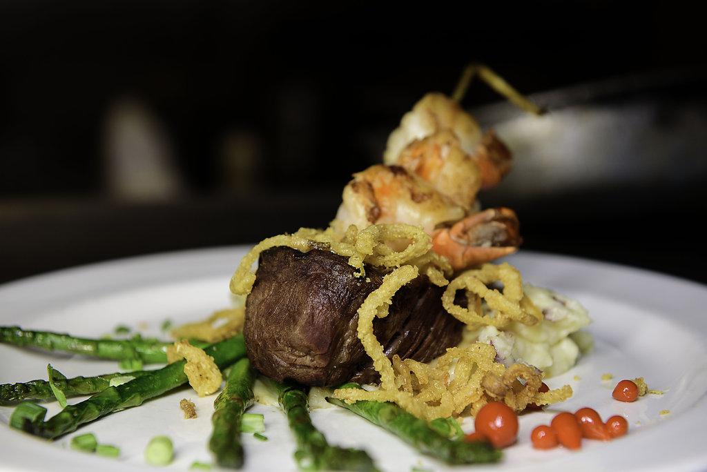 Corporate Catering at J.Baldwin's - Steak & Shrimp